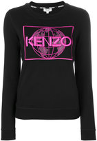 Kenzo branded top - women - Cotton/Polyester - XS