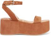 Sam Edelman Henley suede wedge sandals