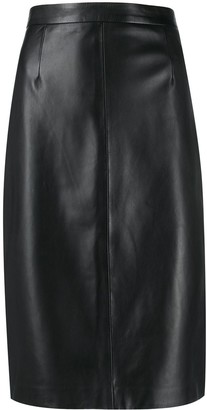 RED Valentino RED(V) fitted pencil skirt