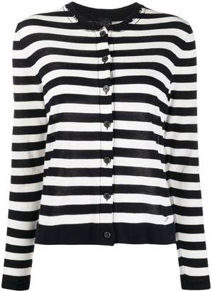 Paul & Shark Striped Fitted Cardigan