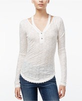William Rast Gordon Nouveau Cutout Henley