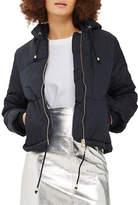 Topshop PETITE Matilda Hooded Puffer Jacket