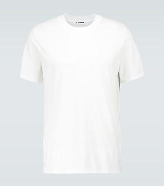 Jil Sander Short-sleeved cotton T-shirt