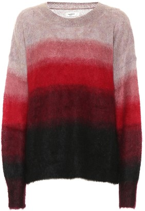 Etoile Isabel Marant Drussell striped mohair and wool-blend sweater