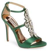 Badgley Mischka Women's Basile Crystal Embellished Sandal