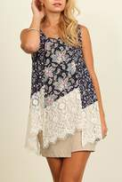 People Outfitter Emma's Way Lace Tunic
