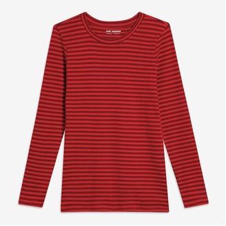 Joe Fresh Women+ Essential Stripe Tee, Black (Size XL)