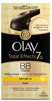 Olay Total Effects Touch of Foundation BB Day Moisturiser - Fair - 50ml by