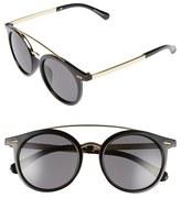 A. J. Morgan A.J. Morgan 'Loop' 50mm Retro Sunglasses