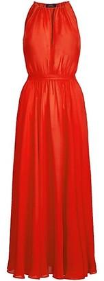Polo Ralph Lauren Sleeveless Halter Maxi Dress