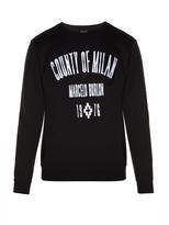 Marcelo Burlon County of Milan Capurata crew-neck sweatshirt