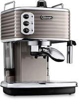 De'Longhi Scultura Coffee Machine - Champagne
