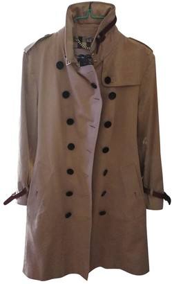 Burberry Camel Synthetic Trench coats