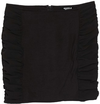 4SI3NNA the Label Jaylen Ruched Mini Skirt