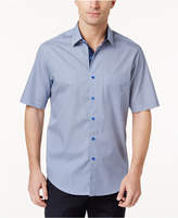 Tasso Elba Men's Dot-Pattern Shirt, Created for Macy's