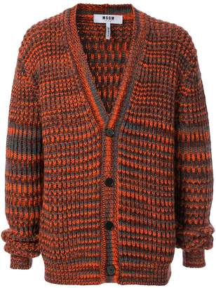 MSGM chunky knit cardigan