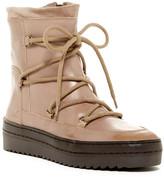 Manas Design Leather Platform Boot