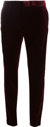 Saint Laurent Velvet Tailored Trousers