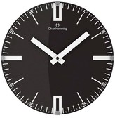"Oliver Hemming Wall Clock with Classic Line and Number Dial (12"")"