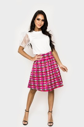 Gibson Kensington Satin Skirt