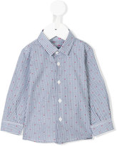 Il Gufo dotted gingham check shirt