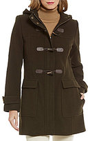 Pendleton Hooded Toggle Wool-Blend Coat