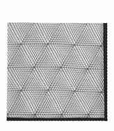 Reiss Bolton - Silk Printed Pocket Square in White, Mens
