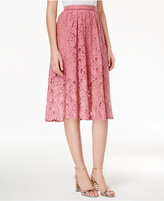 Disney Beauty and the Beast Juniors' Floral Lace Skirt