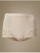M&S Collection Vintage Lace Low Leg Shapewear Knickers