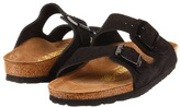 Birkenstock Arizona - Suede (Unisex) (Black Suede) - Footwear