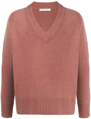 Extreme Cashmere long-sleeved oversized jumper