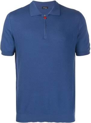 Kiton textured polo shirt