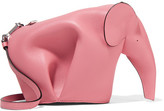 Loewe Elephant Leather Shoulder Bag - Pink