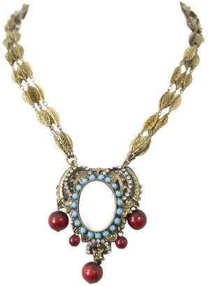 Erickson Beamon Gold Metal Necklaces