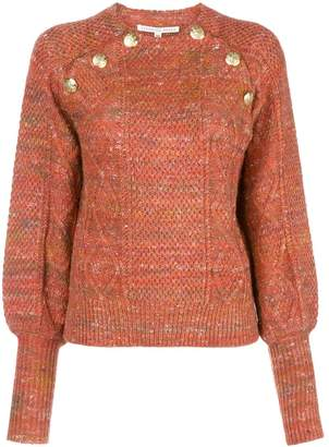 Veronica Beard cable-knit sweater