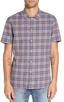 Barney Cools Men's Florida Short Sleeve Plaid Shirt