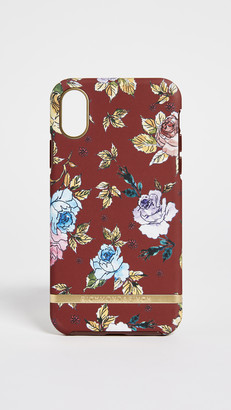 Richmond & Finch Red Floral iPhone Case