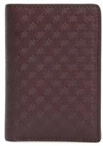Salvatore Ferragamo 'Gancio New York' Leather Card Case