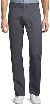 Calvin Klein Slim-Fit 4-Pocket Stretch Sateen Pants
