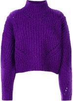 Isabel Marant Farren pulover - women - Polyester/Wool/Alpaca - 36