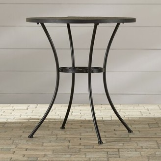 Alcott Hill Mcdavid Slate/Stone Bistro Table