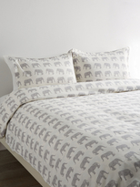 Melange Home Elephant Cotton Duvet Set