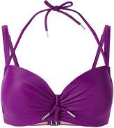 Marlies Dekkers Musubi plunge bikini top D-size + - women - Nylon/Polyester/Spandex/Elastane - 75D