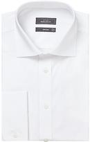 John Lewis Pima Cotton Double Cuff Regular Fit Shirt, White