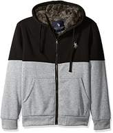 Mens Sherpa Lined Hoodie - ShopStyle