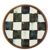 Mackenzie Childs Courtly Check Coasters Set of 4