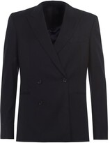 Paul Smith Mid Fit Double Breasted Flannel Suit Jacket