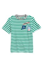 Boy's Tucker + Tate Stripe Patch T-Shirt