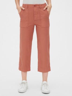 Gap High Rise Straight Crop Chino Pants