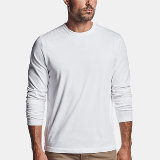 James Perse Brushed Cotton Jersey Crew